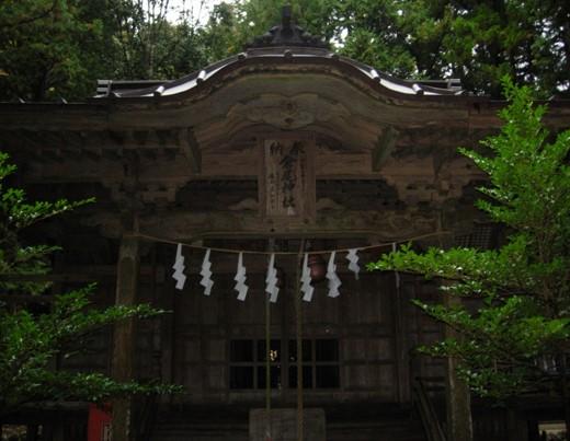 倉尾神社本殿
