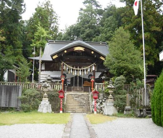 小鹿神社本殿