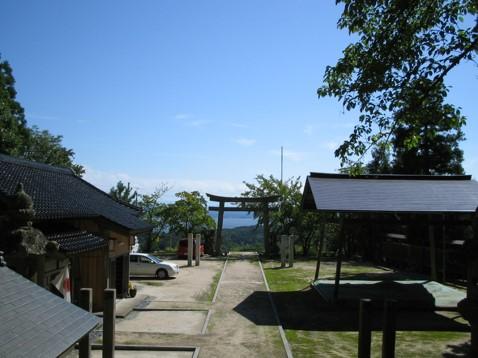 宍道湖を望む