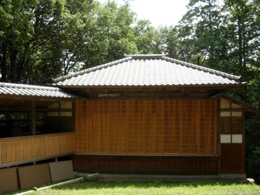 木魂神社舞台
