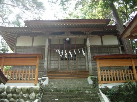 木魂神社本殿