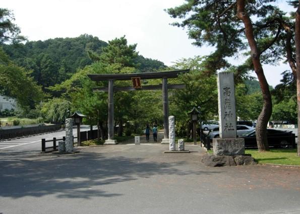 高麗神社参道