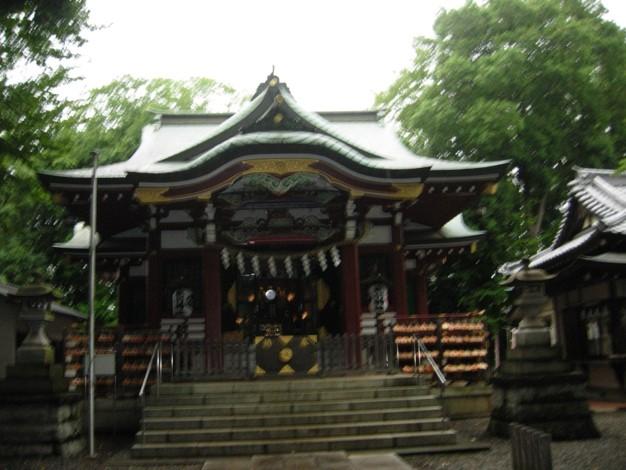 南沢氷川神社本殿