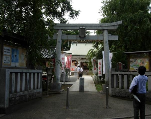 白岡八幡神社鳥居