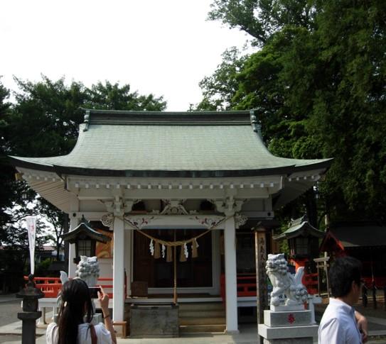 白岡八幡神社本殿