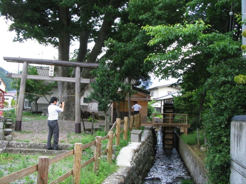 大口伊勢宮・小水力発電所